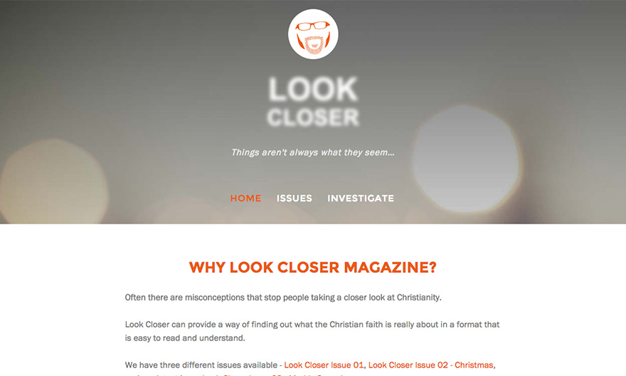 Look Closer Magazine